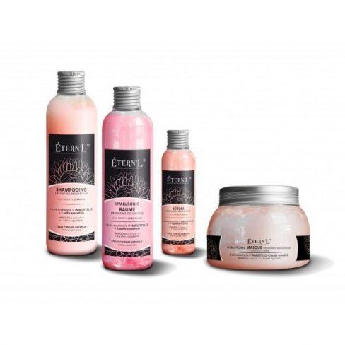 Siero, shampoo, balsamo e maschera etern'l: trattamento per la crescita dei capelli